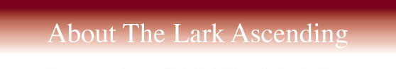 About The Lark Ascending